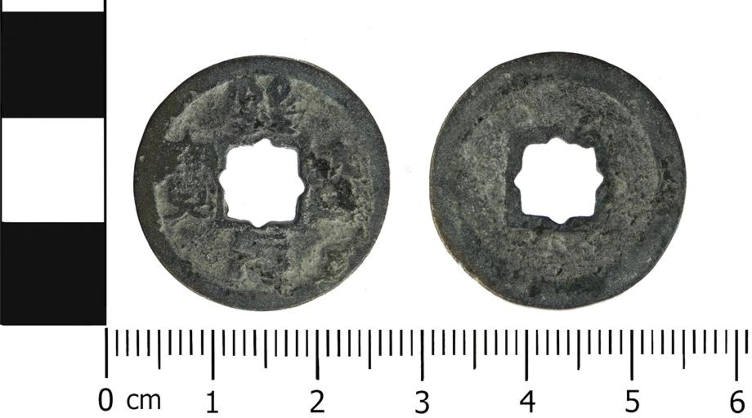 Chinese coin, ancient Chinese coin, Song dynasty, copper coin